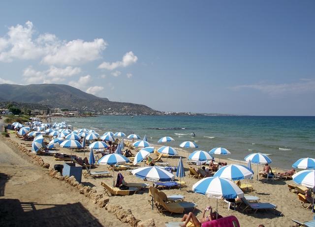 Stalida Stalis Kreta Kriti Crete Creta Greece Grecja